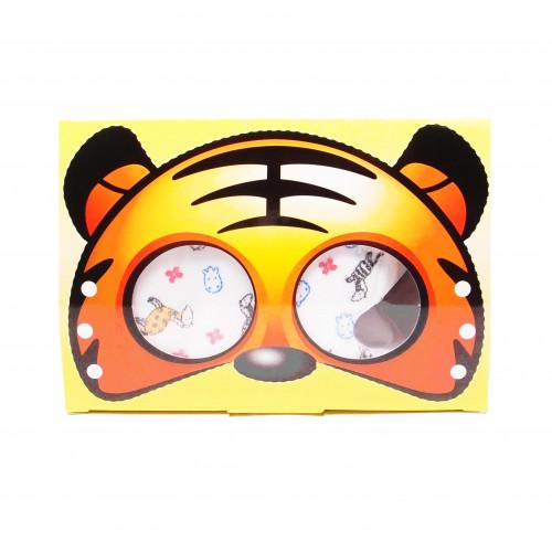 3D彈力兒童口罩 1盒50個入 - 斑馬