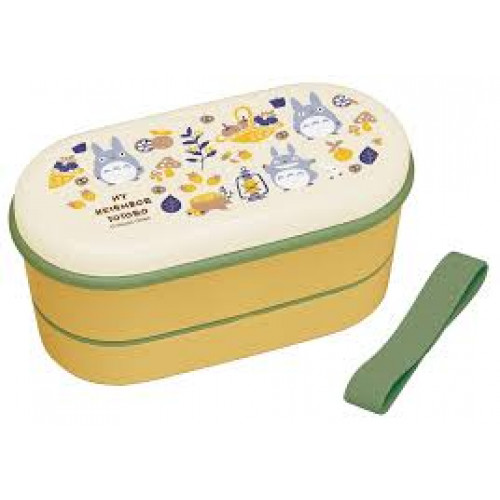 Skater 龍貓 2層餐盒連筷子